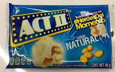 Act II sabor Natural