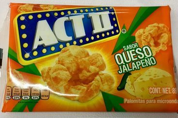Act II sabor Queso Jalapeño
