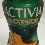 Activia papaya y cereales Danone