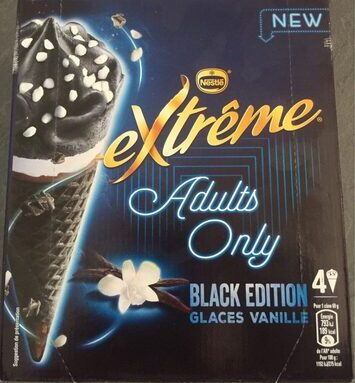Adults only black edition