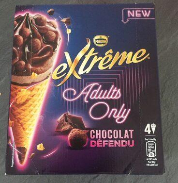 Adults only chocolat défendu