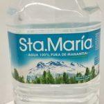 Agua Sta. María