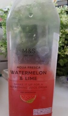 Agua fresca watermelon & lime