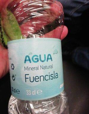 Agua mineral Fuencisla