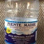 Agua mineral fuente madre