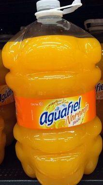 Aguafiel Naranja