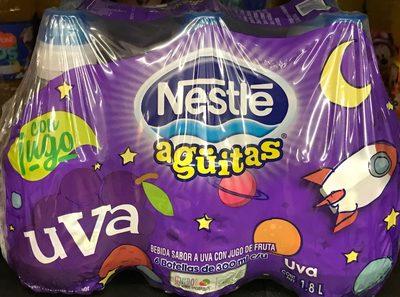 Aguitas Nestle Uva 6 pack
