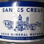 Aigua mineral natural