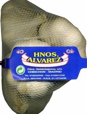 """Ajos """"Hermanos Álvarez"""" Blanco"""