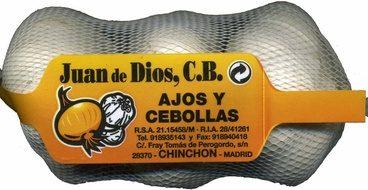 """Ajos """"Juan de Dios"""" Blanco"""