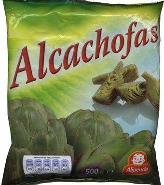 """Alcachofas troceadas congeladas """"Alipende"""""""
