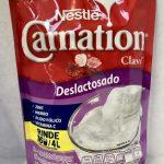 Alimento en polvo deslactosado para preparar bebida de leche y grasa vegetal