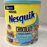 Alimento en polvo para preparar bebida sabor chocolate