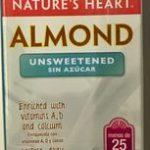 Alimento líquido de almendra sin azúcar