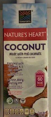 Alimento líquido de coco