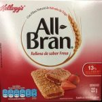 All Bran rellena de sabor Fresa
