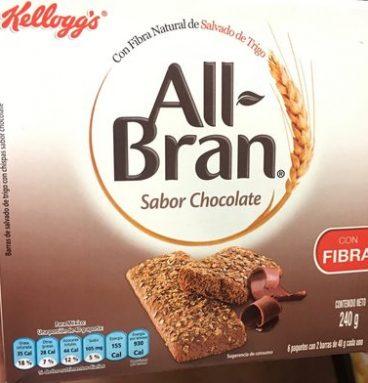 All Bran sabor chocolate