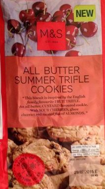 All Butter Summer Trifle Cookies