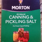 All-Natural Canning & Pickling Salt For Preserving & Pickling