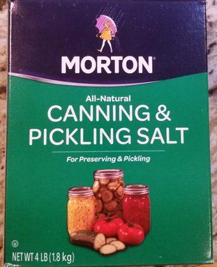 All-Natural Canning & Pickling Salt For Preserving & Pickling