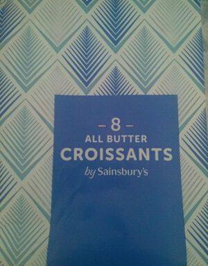 All butter croissants