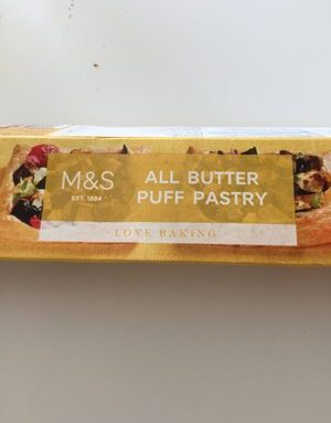 All butter puff pastry
