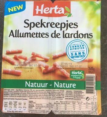 Allumettes lardon sans nitrite
