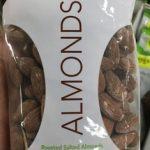 Almonds Amandes grillées salées