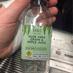 Aloe Vera Grape & Apple Juice