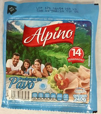 Alpino Pechuga de Pavo