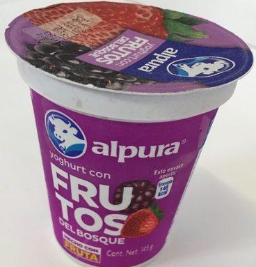 Alpura Yoghurt con Frutos del Bosque