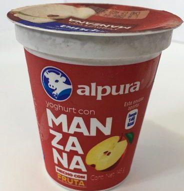 Alpura Yoghurt con Manzana