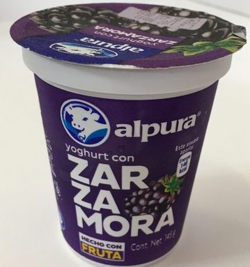 Alpura Yoghurt con Zarzamora