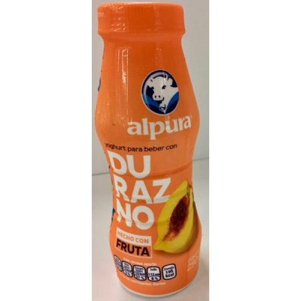 Alpura Yoghurt para beber con durazno
