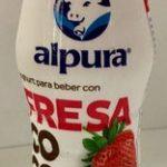 Alpura Yoghurt para beber con fresa y coco