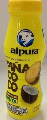 Alpura Yoghurt  piña-coco