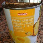 Ananas 10 Tranches