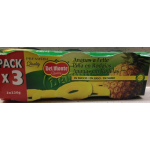 Ananas en tranches au jus 3×220g