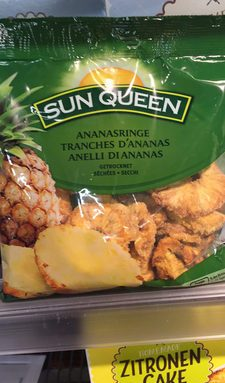 Ananas seché