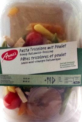 Anna's best pâtes tricolores et poulet