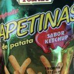 Apetinas de patata sabor ketchup