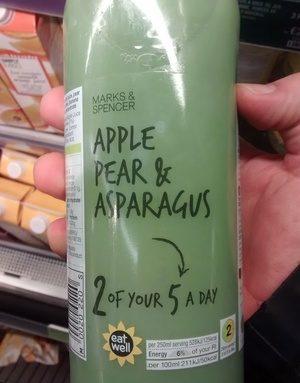 Apple Pear & Asparagus