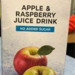 Apple & Raspberry Juice Drink