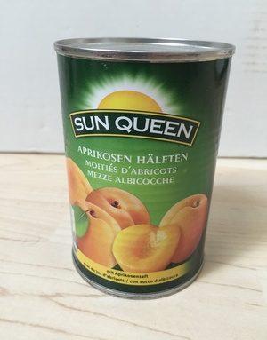 Aprikosen Hälften