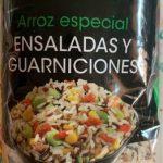 Arros especial ensaladas y guarniciones