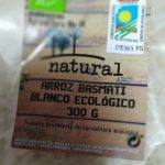Arroz basmati blanco ecológico