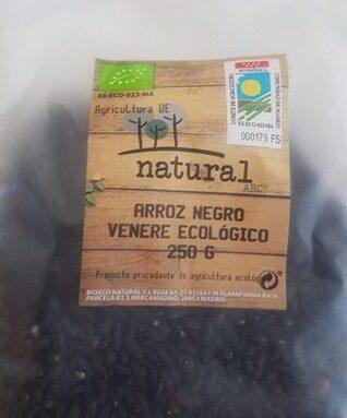 Arroz negro venere ecológico