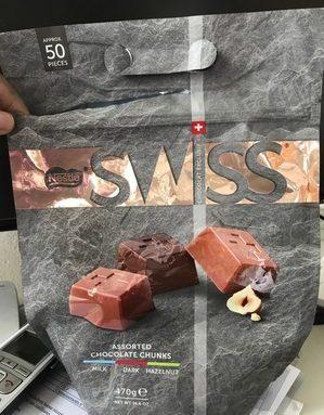 Assorted chocolate chunk