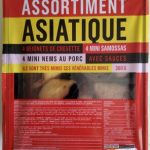 Assortiment asiatique