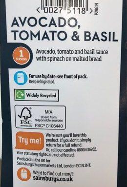 Avocado Tomato Basil